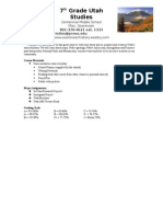 utah history disclosure 2014-15