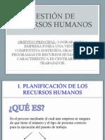 TEMA 4 Gestión de Recursos Humanos