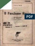 Voline - Il Fascismo Rosso
