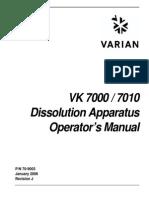 VK 7000 7010 Op Man 70-9003 Rev J