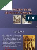 La Persona en El Derecho Romano