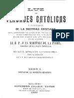 Verdades Catolicas-Tomo I-Martinez de La Parra