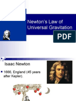 Newton's Law of Universal Gravitation (Physics)