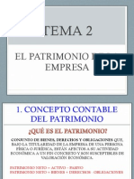 Tema 2 El Patrimonio de La Empresa