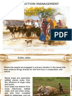 CONSTRUCTION MANAGEMENT FOR RURAL OCCUPATION AND LIFESTYLE
