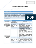 UNIDAD DIDACTICA N° 02 PRIMERO DE SECUNDARIA  Ccesa1156JSBL