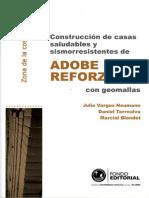 Bricolaje Ecologico - Construccion de Casas Saludables y Sismoresistentes de Adobe Reforzado - Costa