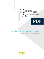 Logistica Internacional Adg0096