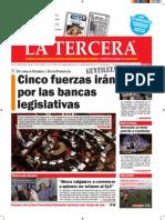 Diario La Tercera 12.07.2015