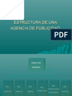 Estructura de Una Agencia de Publicidad