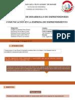 Comunicación en La Empresa Emprendimiento (1)