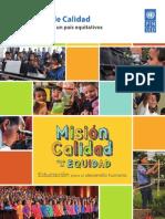 Mision Calidad. Educación de Calidad. Para Una Ciudad y Un País Equitativos_corta