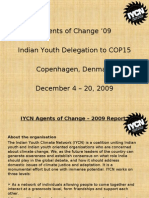IYCN Agents of Change – 2009 Report
