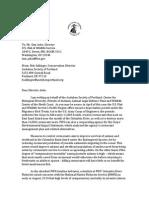Ashe Cormorant Letter 8-12-15