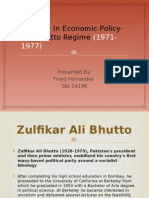Bhutto Era- Seminar Ppt
