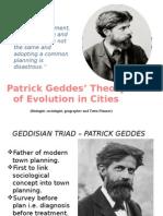 Patrick Geddes Town Planning Presentation