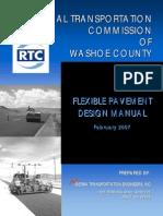 Flexible Pavement Design Manual - 2007