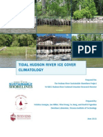 Tidal Hudson River Ice Climatology