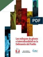 Folleto de Genero e Interculturalidad de la Defensoría del Pueblo