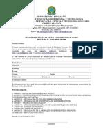 Edital - Concorrência N.º 01.2015 - Concessão de Cantina - REV A