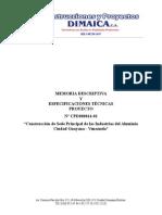 Memoria Descriptiva Empresas Del Aluminio Rev.0