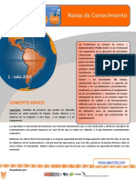 Boletin de Conocimiento PGAM - 1-1