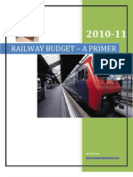 Railway Budget by Mamta Banerjee 2010