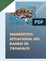 Diagnóstico Situacional Del Barrio de Yananaco 202020