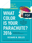 What Color is Your Parachute? 2016 by Richard Bolles - Tips on Interviewing for a Job