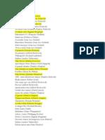 Lista de Filmes - Thiago