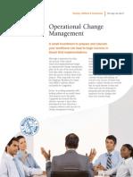 Smart Grid Operational Services - OCM POV
