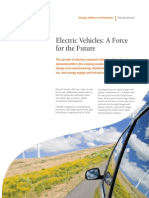 Smart Grid Operational Services - Electric Vehicle Fact Sheet