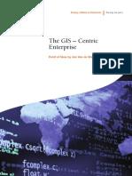 The GIS Centric Enterprise POV