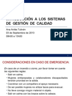 introduccinalossistemasdegestindecalidad-130909190013-