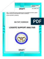 MIL-HDBK-1388 Logistics Support Analysis