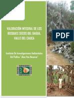 Servicios Ecosistemicos Bosque Seco