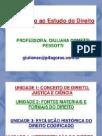 MATERIAL DE APOIO 01 - Introdução ao Estudo do Direito - Professora Giuliana.pdf