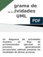 Diagrama de actividades UML