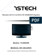 Sunstech TLXR2265 Manual