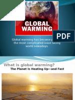 Global WARMING presentation.