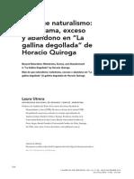 Laura Utrera, Más que naturalismo