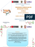Programa Curricular Inicial 2