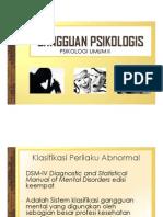 9 Gangguan Psikologis