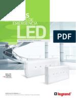 Catalogo Luminarias LED Legrand