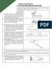 Engineering Mechanics (Projectile Motion)