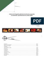 Análisis de la fotografía publicitaria