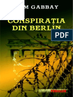 Tom Gabbay -Conspiratia Din Berlin
