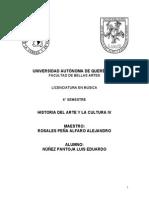 Ensayo Siglo XX Vanguardias