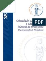 Manual SBP - Obesidade Infancia e Adolescencia