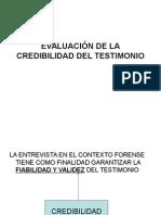 Evaluación de La Credibilidad Del Testimonio